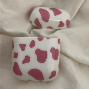 Urban Outfitters Cow Print Airpods Case